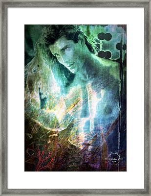 Merman Of The Sea Framed Print