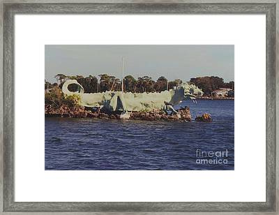 Merritt Island River Dragon Framed Print