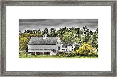 Merrucoonegan Farm Framed Print by Richard Bean