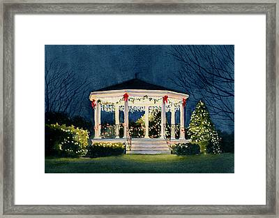 Merry And  Bright Framed Print by Vikki Bouffard