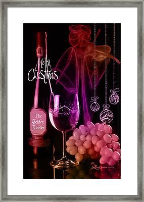 Merry Christmas Framed Print by EricaMaxine  Price