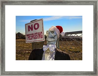 Merry Christmas Framed Print by Garry Gay