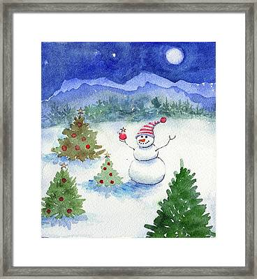 Merry Christmas Framed Print by Katherine Miller