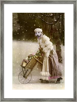 Merry Christmas Framed Print by Martine Roch