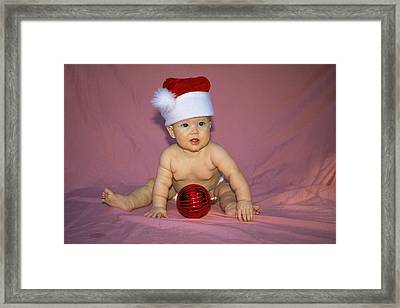 Merry Christmas Mom Framed Print by Buddy Mays