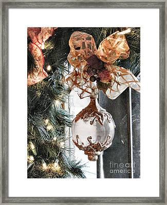 Merry Christmas Framed Print by Rory Sagner