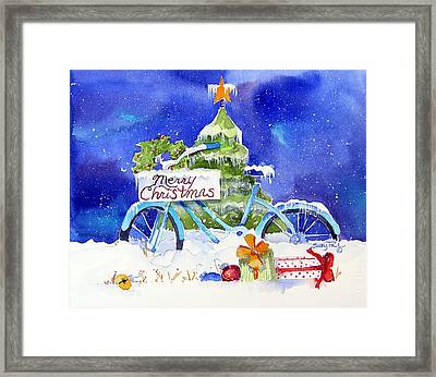 Merry Christmas Framed Print by Suzy Pal Powell