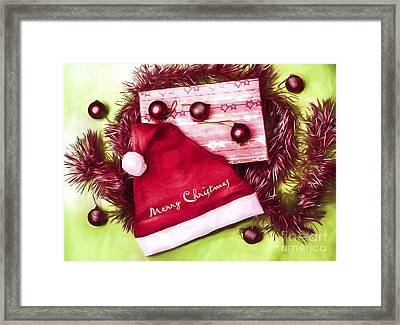 Merry Christmas To You Framed Print