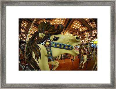 Framed Print featuring the photograph Merry Go Round by Sami Martin