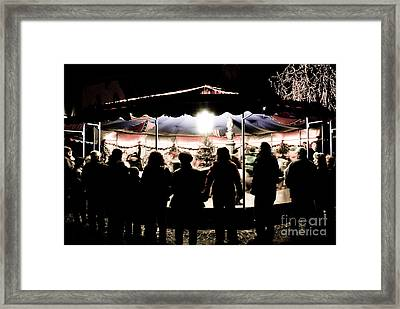 Merry Go Round Framed Print by Syed Aqueel