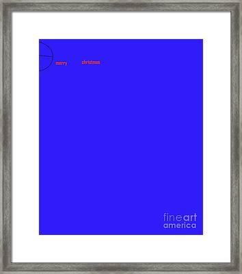 Merry Framed Print by Jay Manne-Crusoe