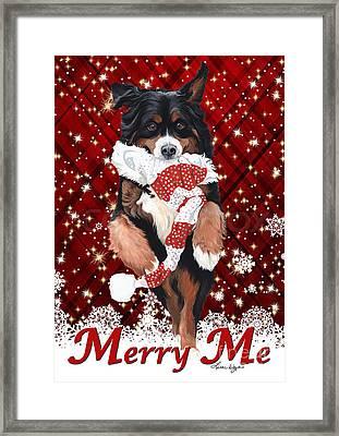Merry Me Framed Print