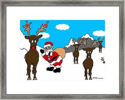 Merry Merry Framed Print
