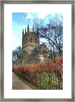Merton College Chapel Framed Print by Chris Day