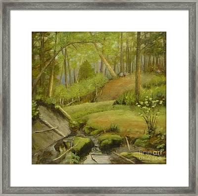 Merville Bc  Framed Print