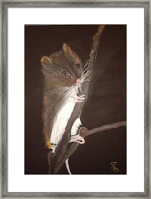 Mervyn Mouse Framed Print