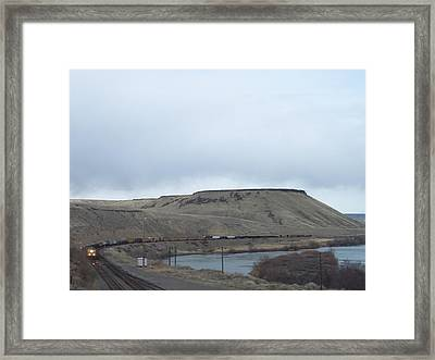Mesa Framed Print by Angela Stout