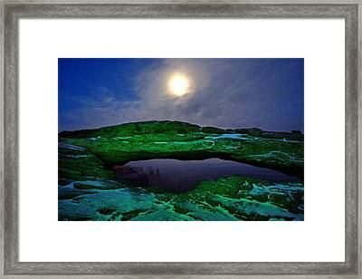 Framed Print featuring the photograph Mesa Arch In Green by David Andersen