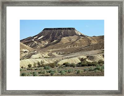 Mesa Framed Print by Dirk Wiersma