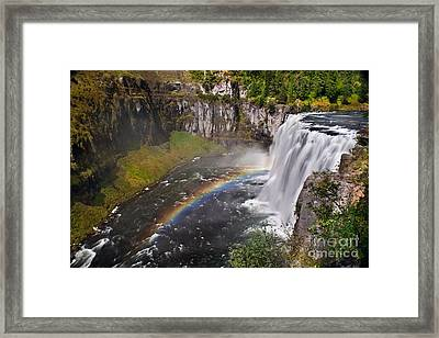 Mesa Falls Framed Print by Robert Bales