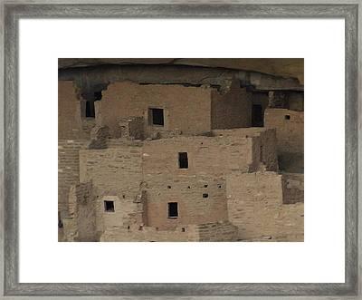 Mesa Verde Cliff Dwellings Framed Print