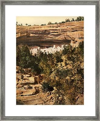 Mesa Verde Cliff Palace Framed Print