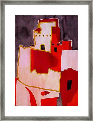 Mesa Verde Original Painting Sold Framed Print by Sol Luckman