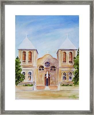 Mesilla Church Framed Print