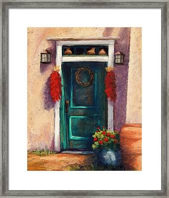 Mesilla Door Framed Print