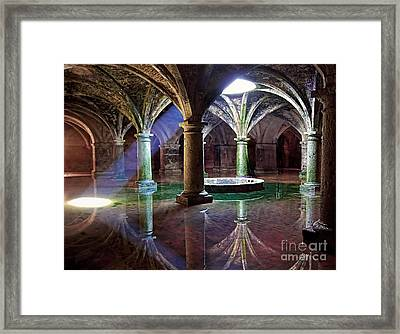 Mesmerizing Spectacle Of Light And Shadows  Framed Print