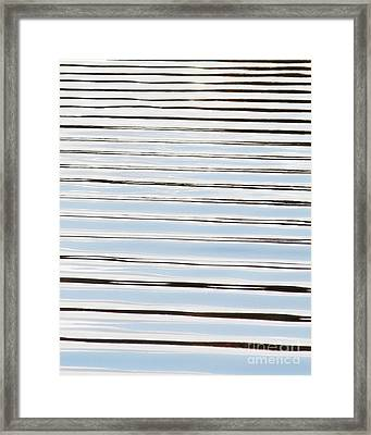 Framed Print featuring the photograph Mesmerizing Waves by Anita Oakley