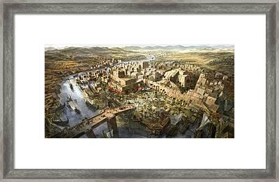Mesopotamia Framed Print by Jeff Brown