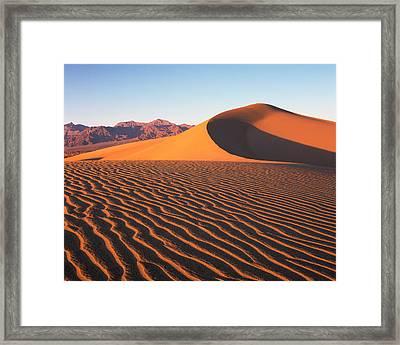 Mesquite Dunes 1 Framed Print
