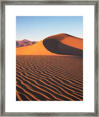 Mesquite Dunes 1-v Framed Print