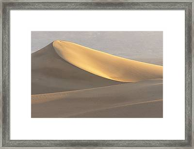 Mesquite Flat Dunes, Death Valley Framed Print by Rob Sheppard