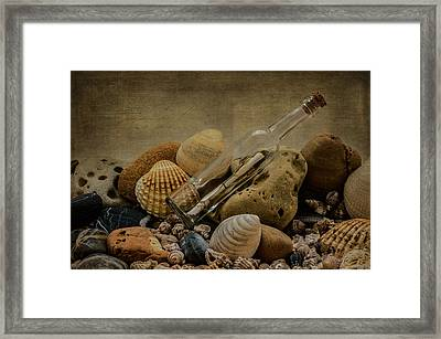 Message In A Bottle IIi Framed Print by Marco Oliveira