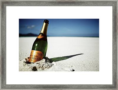 Message In A Bottle Framed Print by JM Photography