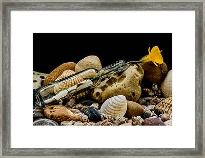 Message Of Love I Framed Print by Marco Oliveira
