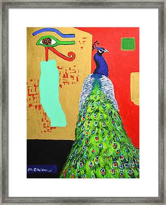 Messages Framed Print by Ana Maria Edulescu