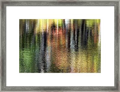 Messalonskee Reflection 2 Framed Print