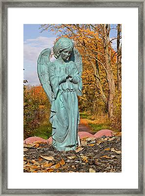 Messenger Between Two Worlds Framed Print by Christine Till