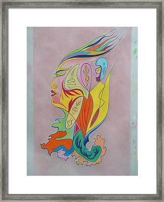 Messenger From The Cosmos Framed Print by James Welch