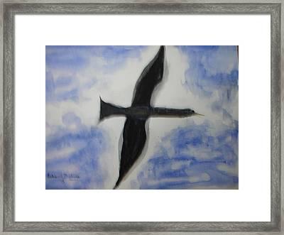 Messenger Miracle Framed Print by Edward Burbidge