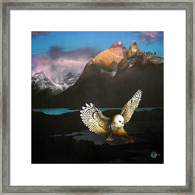 Messenger Rising Framed Print