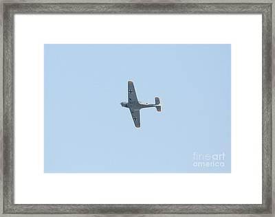 Messerschmitt Bf-108 Framed Print by Paul Cowan