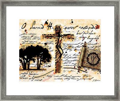 Messiah Framed Print by Gary Bodnar