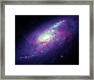 Messier 106 Framed Print by Detlev Van Ravenswaay