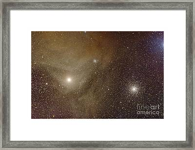 Messier 4 And Ngc 6144 Globular Framed Print by Alan Dyer