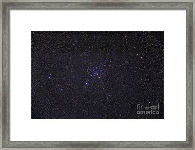 Messier 41 Below The Bright Star Framed Print by Alan Dyer