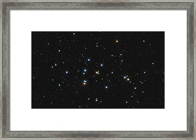 Messier 44, The Beehive Cluster Framed Print by Lorand Fenyes